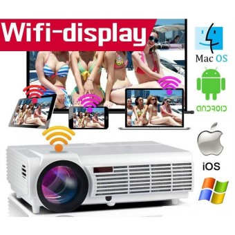 Beamer projector 3D 4K Full HD Android LED 96 5500 lumens + WIFI